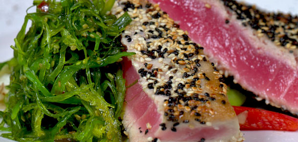 Christopher's Sesame Crusted Tuna Steak